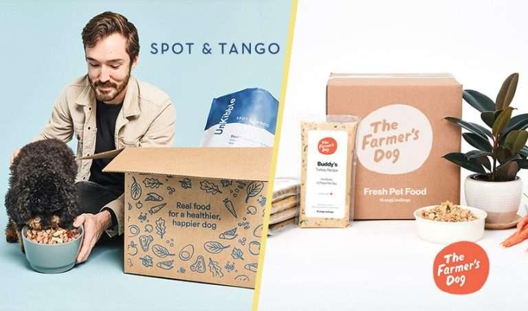 Spot and Tango vs The Farmer's Dog Food Comparison
